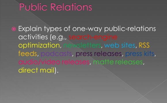Interactive Public Relations