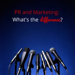 PR and marketing- what's the difference?